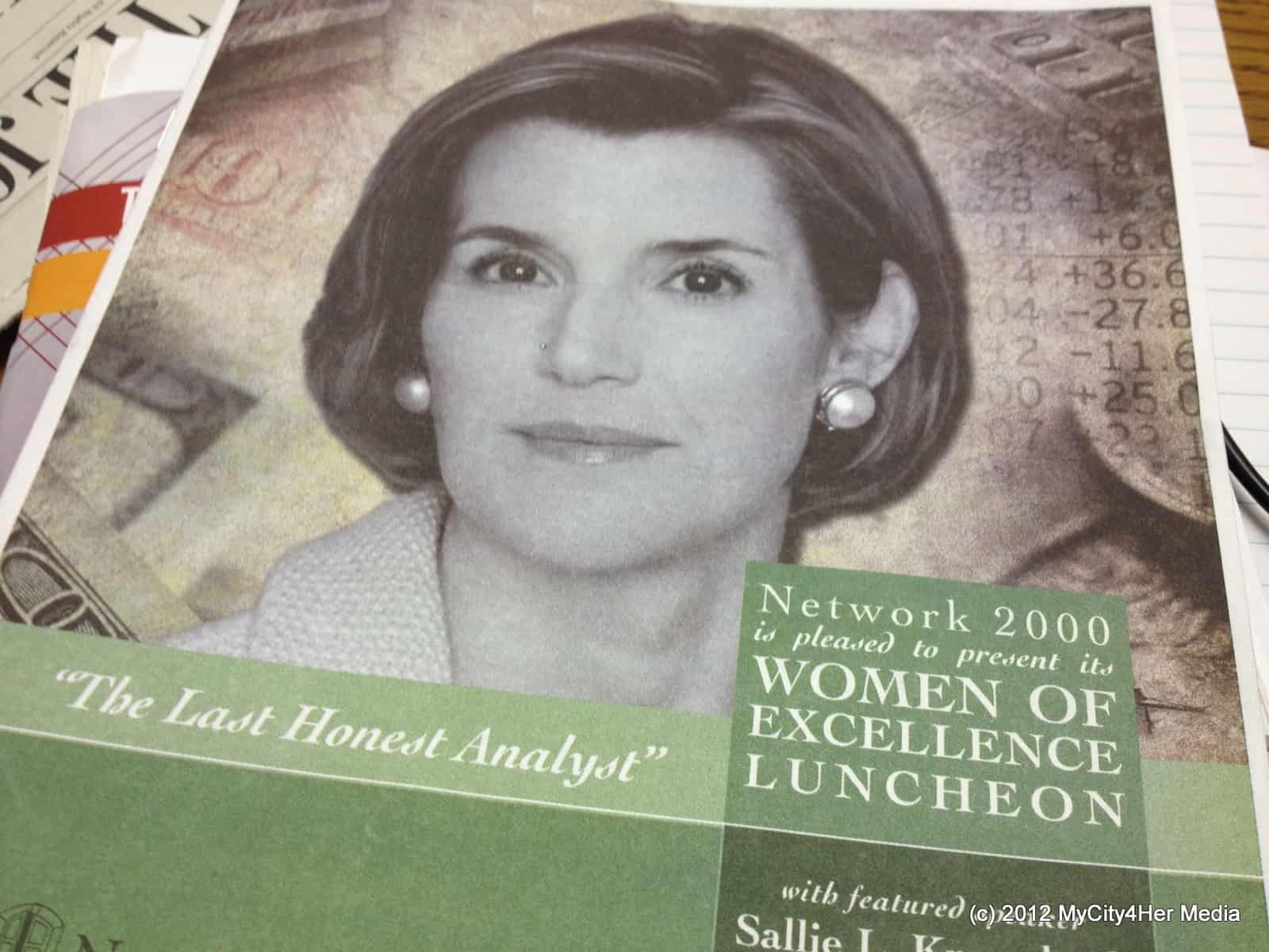 Network 2000 Women of Excellence Luncheon Program Cover