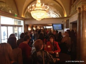 The crowd Network 2000 Women of Excellence Luncheon
