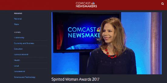 Spirited Woman Awards Founder Monyka Berrocosa