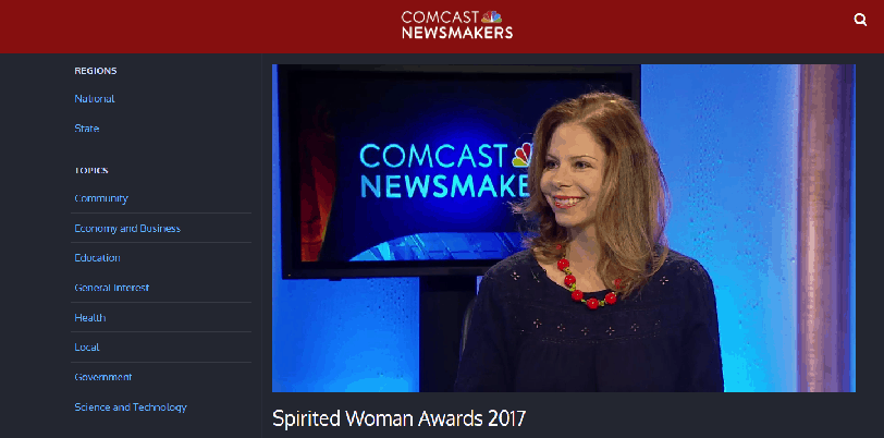 Spirited Woman Awards Founder Monyka Berrocosa