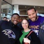 Monyka Berrocosa with Ravens on MyCity4Her.com