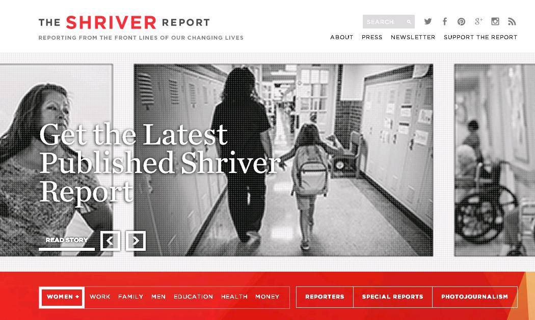 The Shriver Report What Is it on MyCity4Her.com